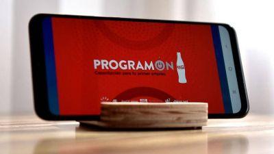 El ministro de Educación se sumó a la presentación de ProgramON, la capacitación virtual de Coca-Cola destinada a jóvenes