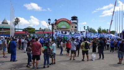Masiva movilización para evitar el cierre y el vaciamiento del Parque de la Costa