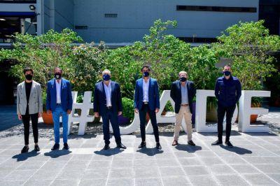 La Fraternidad presentó plan de becas para la UADE y la UNSAM
