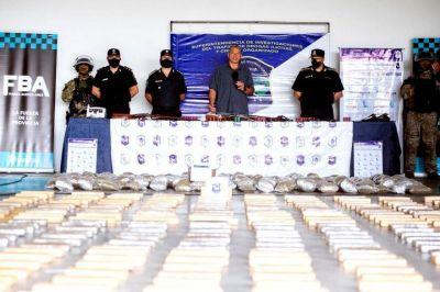 """Berni destacó el Operativo """"Flores Verdes"""": incautaron 2200 kilos de marihuana"""