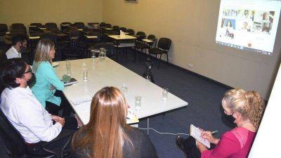 Andrea Centurión se reunió con el ministro Trotta: pidió mejorar la conectividad