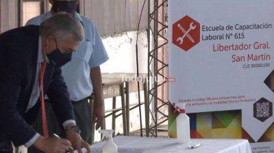 Morales en Libertador: nueva escuela de capacitación laboral