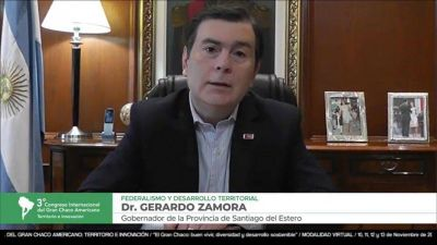 """""""Hemos puesto como objetivo la producción de energías alternativas"""", señaló Zamora"""