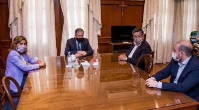 El jefe de Gabinete e intendentes dialogan de protocolos sanitarios