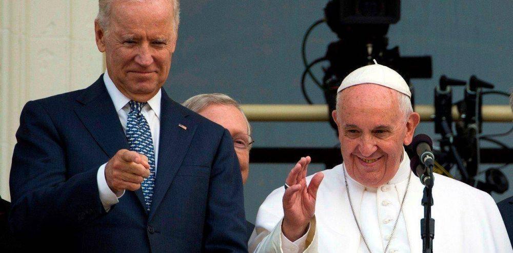 El papa Francisco habló con Joe Biden y lo felicitó por su victoria en Estados Unidos