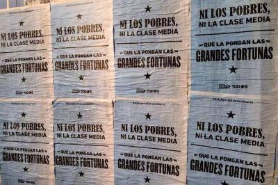 El Frente Patria Grande de Grabois apura el debate del proyecto de aporte solidario en Diputados