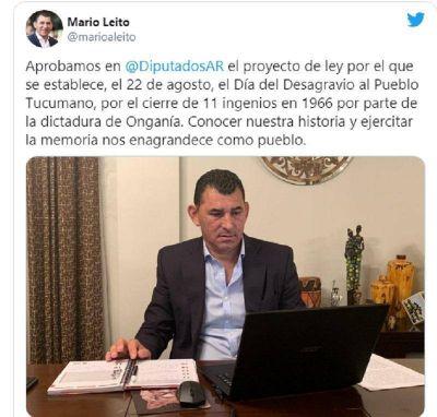 Monteros ya es Capital Alterna de Argentina al aprobarse la Ley