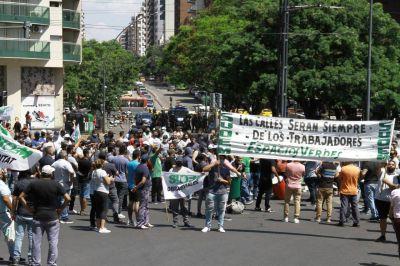 Sin diálogo con la Municipalidad, Suoem se movilizó hacia el Patio Olmos