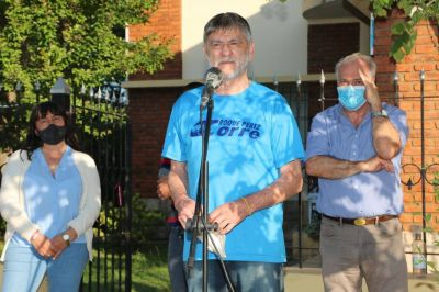 Gasparini en Beguerie se refirió a las gestiones y ataques políticos