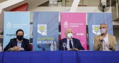 """""""Agradezco al ministro Gines por reconocer a Malvinas Argentinas como una referencia a nivel nacional en materia sanitaria"""""""