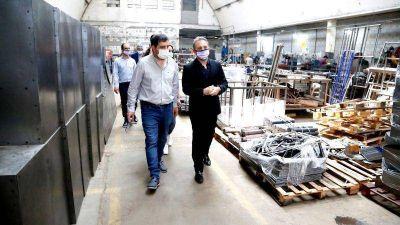 Fernando Moreira visitó Grupo Advance, una empresa de San Martín referente en inclusión laboral