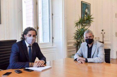 Cafiero puso en funciones a Ferraresi: ganan volumen intendentes bonaerenses