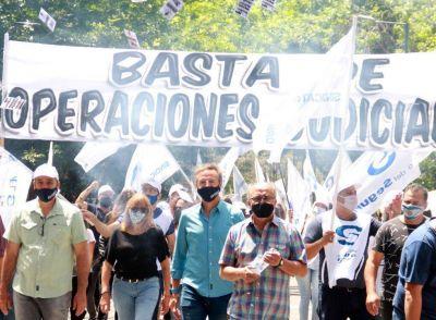 """Video. Fuerte discurso de Sola en la CNAT: """"Operadores judiciales y gremiales tumbaron una elección legítima"""""""
