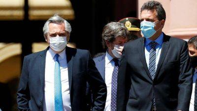 Cristina y Máximo Kirchner juegan fuerte y condicionan la agenda política de Alberto Fernández y Sergio Massa