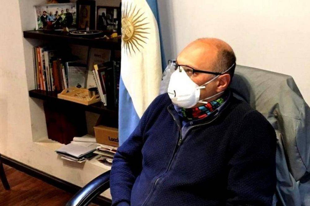 Otro intendente bonaerense contagiado: Esteban Reino también contrajo Coronavirus