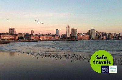 Mar del Plata es una de las primeras ciudades en recibir el Sello Internacional Safe Travels