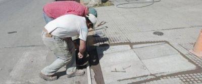 Renovación de rampas en el radio céntricoDesde la comuna trabajan para mejorar la accesibilidad