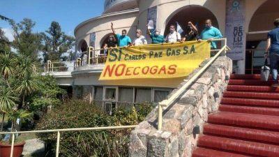 La Coopi reclamó contra el traspaso del gas en la Municipalidad