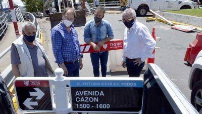 Continúan las obras de infraestructura en el Municipio de Tigre