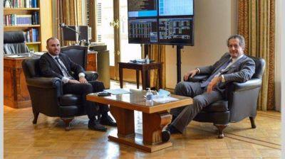 En medio de rumores de tensión, Martín Guzmán se reunió con Miguel Pesce