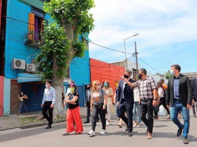 El intendente Chornobroff firmó convenio para potenciar La Boca e Isla Maciel