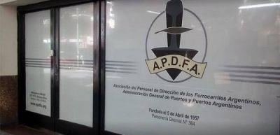 APDFA lanzó un paro de jerárquicos ferroviarios en la empresa Ferrosur Roca