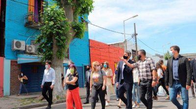 Chornobroff participó de una firma de convenio para potenciar turísticamente a los barrios de La Boca e Isla Maciel