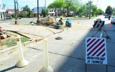 El Municipio profundiza acciones de bacheo y sellado de juntas y fisuras