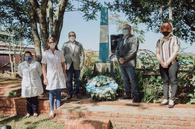 Herrera Ahuad presidió el acto por el aniversario de Colonia Alberdi