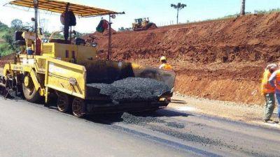 Como un acontecimiento histórico, finalizan el asfaltado de la ruta 14
