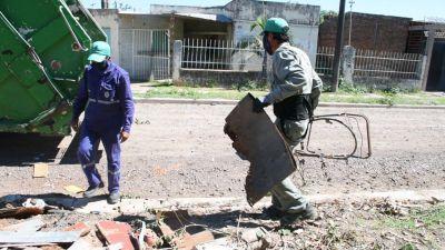 Operativos anti dengue: recolectaron más de 10.000 metros cúbicos de basura