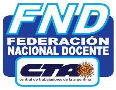 Jornada Nacional de Lucha Docente y su continuidad