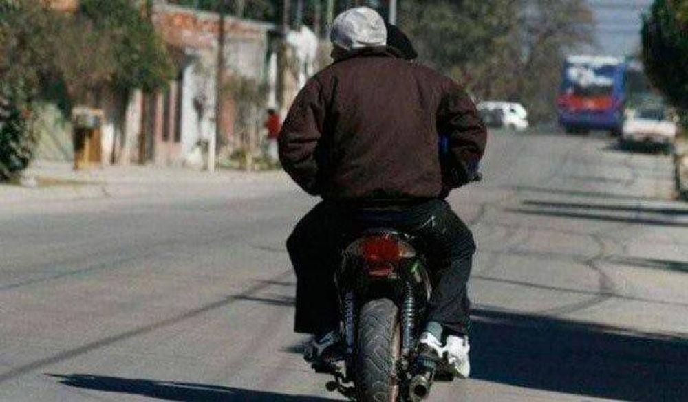 """Crece la preocupación por el aumento de """"motochorros"""" en la ciudad"""