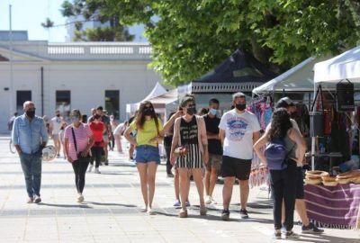 Exitoso regreso de las ferias a las plazas y parques de la ciudad