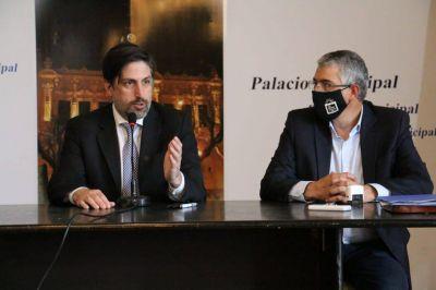 Puglelli recibió al ministro Trotta y juntos firmaron un convenio