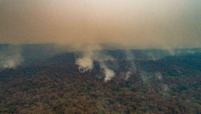 Jujuy tiene el único incendio activo en el país