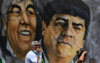 Moyano espera otra caravana multitudinaria para empujar el impuesto a las fortunas y la figura de Pablo