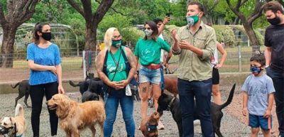 El Sindicato de Trabajadores Caninos presentó su proyecto para la construcción de 150 caniles en la Ciudad