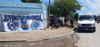 Juventud Sindical Peronista Bahía Blanca// Gran hamburgueseada solidaria en el barrio Esmeralda – Otra vez los jóvenes Presentes