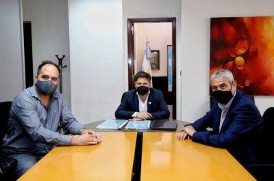 Kicillof y Ferraresi: Primera reunión de trabajo para abordar la crisis habitacional