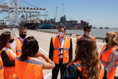 Puerto de Buenos Aires recibió a Diputados del Frente de Todos