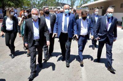 Julio Zamora acompañó a Alberto Fernández y Kicillof y en el anuncio de inversiones en Tigre