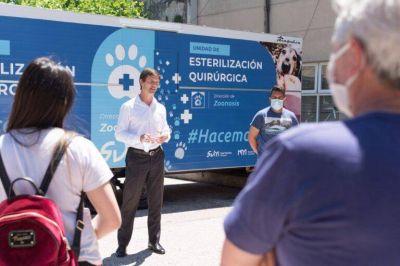Atención para mascotas: San Vicente sumó un Quirófano Móvil