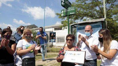 Homenaje: El Municipio impuso el nombre de un héroe de Malvinas a una calle de Longchamps
