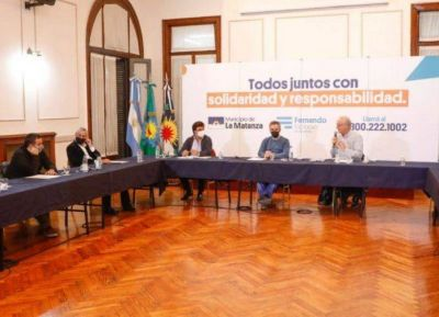Espinoza reunido con Larroque