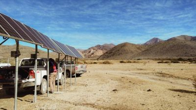 Los puestos de energía solar fotovoltaica recibieron asistencia en una campaña conjunta