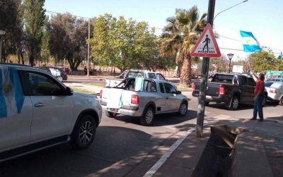 Grandes fortunas: caravanazo en Mendoza a favor de la ley