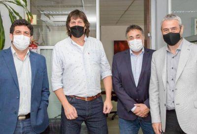 Puy Soria se reunió con Ferraresi para profundizar poíticas habitacionales