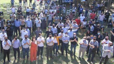 San Vicente; Ministros e intendentes festejaron el Día de la Militancia