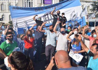 La Plata: el Partido Justicialista salió a la calle a celebrar el